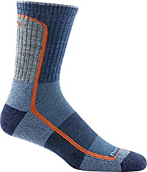 Darn Tough Vermont Men's Merino Wool Micro-Crew Light Cushion Hiking Socks Ideal for nomad packing list