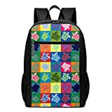 Unisex Sea Turtle Drawstring Backpack School Book Bag 17 Inch