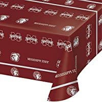 Mississippi State University Plastic Tablecloths, 3 ct [並行輸入品]