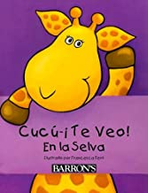 CucúÂ--Â¡Te Veo! En la Selva: Peek-a-Boo Jungle, Spanish Edition