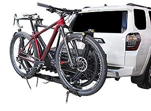 Saris Superclamp 2-Bike Hitch Car Rack Plus Cargo