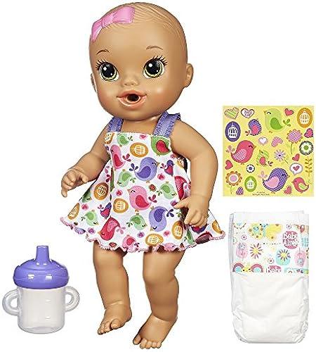 Unbekannt Baby Alive Sips 'n Cuddles Brunette, modernes Outfit
