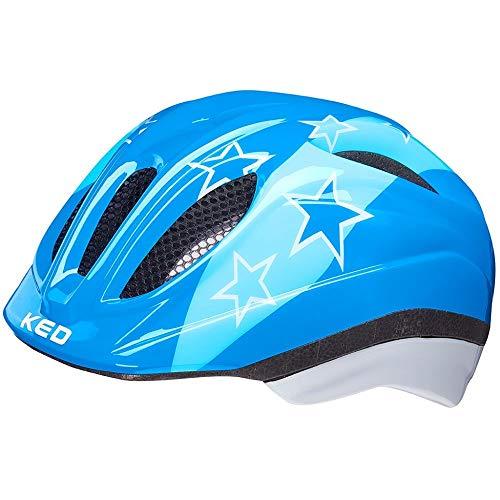 KED Helmet Meggy II Fahrradhelm/E-Bike/Mountainbike/MTB/Baby Unisex/Blue Stars, XS 44-49 cm