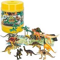 ColorBaby - Bote de 18 x 23 cm con Animales Salvajes y Accesorios