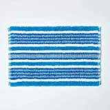 Homescapes waschbare Badematte, handgewebt aus 100%