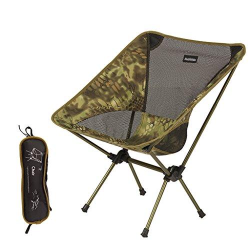 Klappstuhl im Freien tragbar Camping-Angelhocker Lässiger Strandskizzenhocker ( Color : Anaconda )