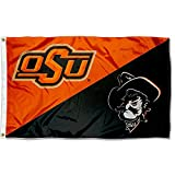 OSU Cowboys Divided Logo College Flag