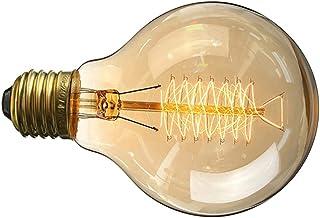 FRCOLOR E27 Light Bulbs Edison Light Bulbs Clear Bulbs Warm Yellowish Light Antique LED Filament Bulbs Decorative Ceiling ...