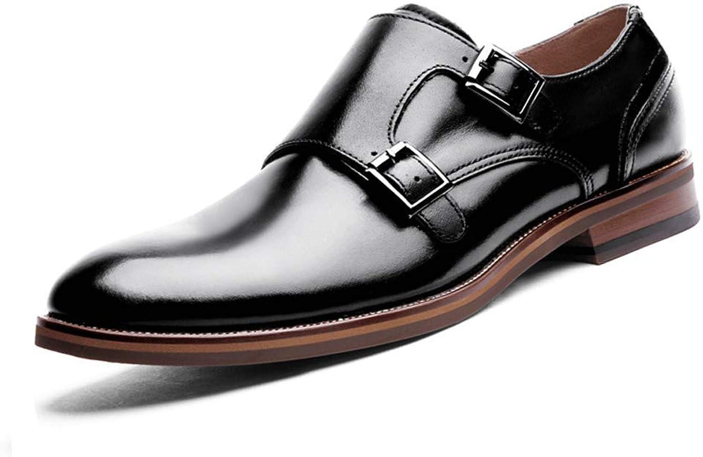 ERMEI Herrenmode Leder Formelle Schuhe - Klassische Businessschuhe