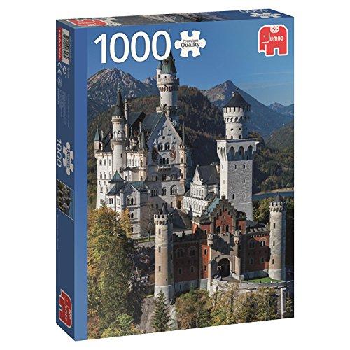 Neuschwanstein, Germania Puzzle de 1000 piezas (18558.0) , color/modelo surtido