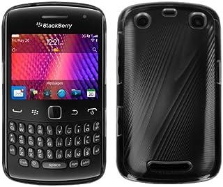 Blackberry Curve 9360 Black Cosmo Back Case Cover
