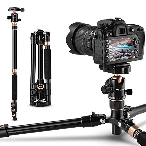 Rangers Cámara Trípode, Trípode Monopod del recorrido portátil 145cm de Alumnio Aleación, para Canon Nikon Sony Samsung Olympus Panasonic DSLR Cámaras