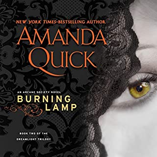 Burning Lamp audiobook cover art