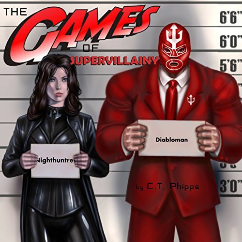 The Games of Supervillainy cover art