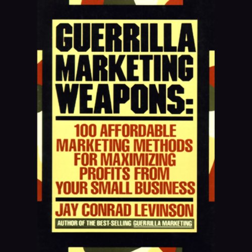 Guerilla Marketing Weapons audiobook cover art