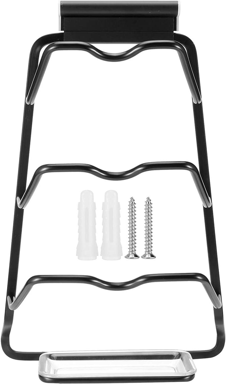 Finally resale start Camidy Wall Mount Fashionable Pot Lid Storage Rack Tier Aluminum 3- Hanging