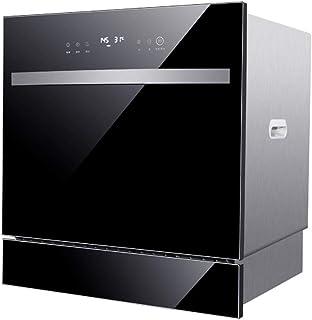 STBD-Lavavajillas De Encimera Compacto - Lavavajillas Empotrado Energy Star Interior De Acero Inoxidable 304 para Oficinas PequeñAs Y Restaurante De Cocina Familiar - Negro