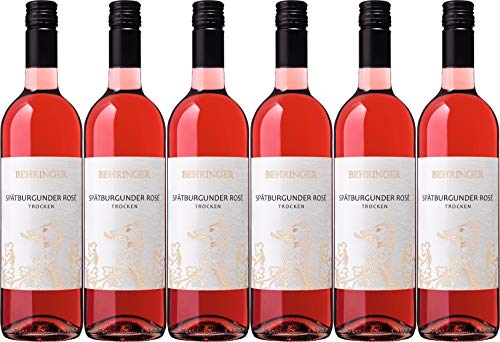 Behringer Spätburgunder Rosé 2019 Trocken (6 x 0.375 l)