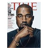 Kanye West - Amerikanischer Hip Hop Sänger Star Poster