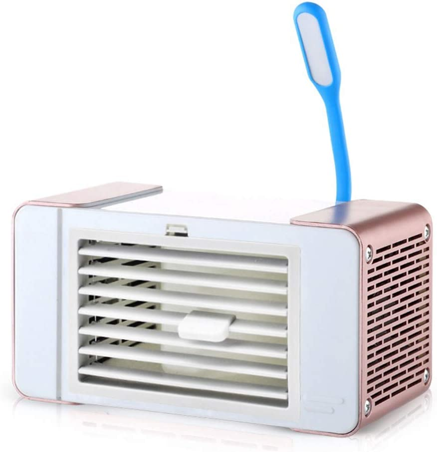 SilkRd Popular brand in the world Soldering Portable Mini Air Cooler Conditioner Humidifie