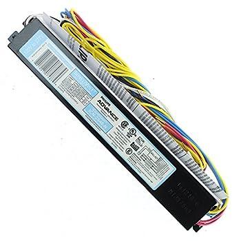 Advance Ballast Icn-2S40-N Rapid Start Electronic Ballast 2 Lamp T12 120/277V