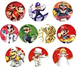 Enyi store NFC Game Cards for Super Mario Odyssey Nintendo Switch 10pcs with Cards Holder