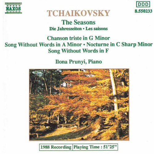 Les Saisons (The Seasons), Op. 37b: July: Song Of The Reaper