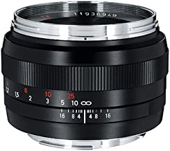 Zeiss Normal 50mm f/1.4 ZE Planar T Manual Focus Lens for Canon EOS Cameras