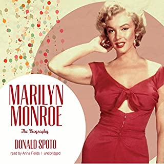 Marilyn Monroe audiobook cover art