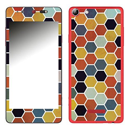 DISAGU SF-106693_1206 Design Folie für Wiko Selfy 4G - Motiv Polygone 03