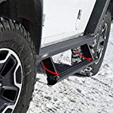 ARIES 3036570 ActionTrac 65-Inch Retractable Powered Running Boards, Select Jeep Wrangler JK