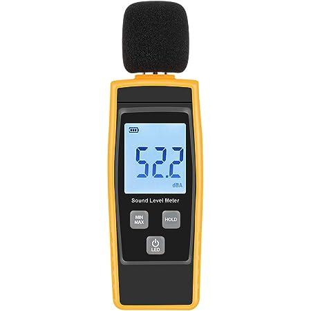 New Digital Audio Sound Noise Level Meter Decibel Pressure Monitor Tester #297