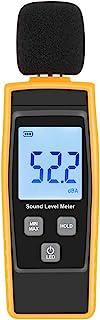 Hand-Held Sound Level Meter,V-Resourcing 30~130 dB Decibel Noise Measurement Tester with Backlight Digital LCD Display for...