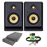 KRK Rokit RP5 G4 Professional Active Powered DJ Studio Monitor Speakers with Isolation