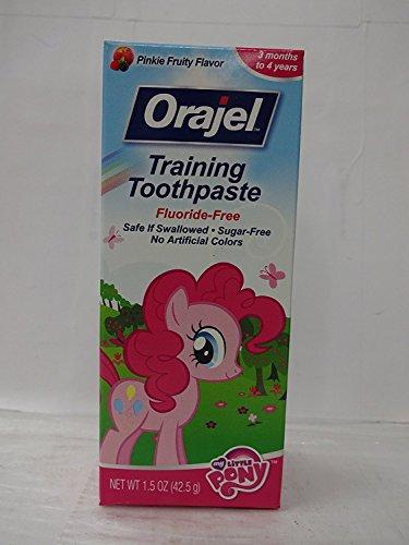 Orajel Toddler My Little Pony Training Toothpaste 1.5 oz. (Pack of 2)