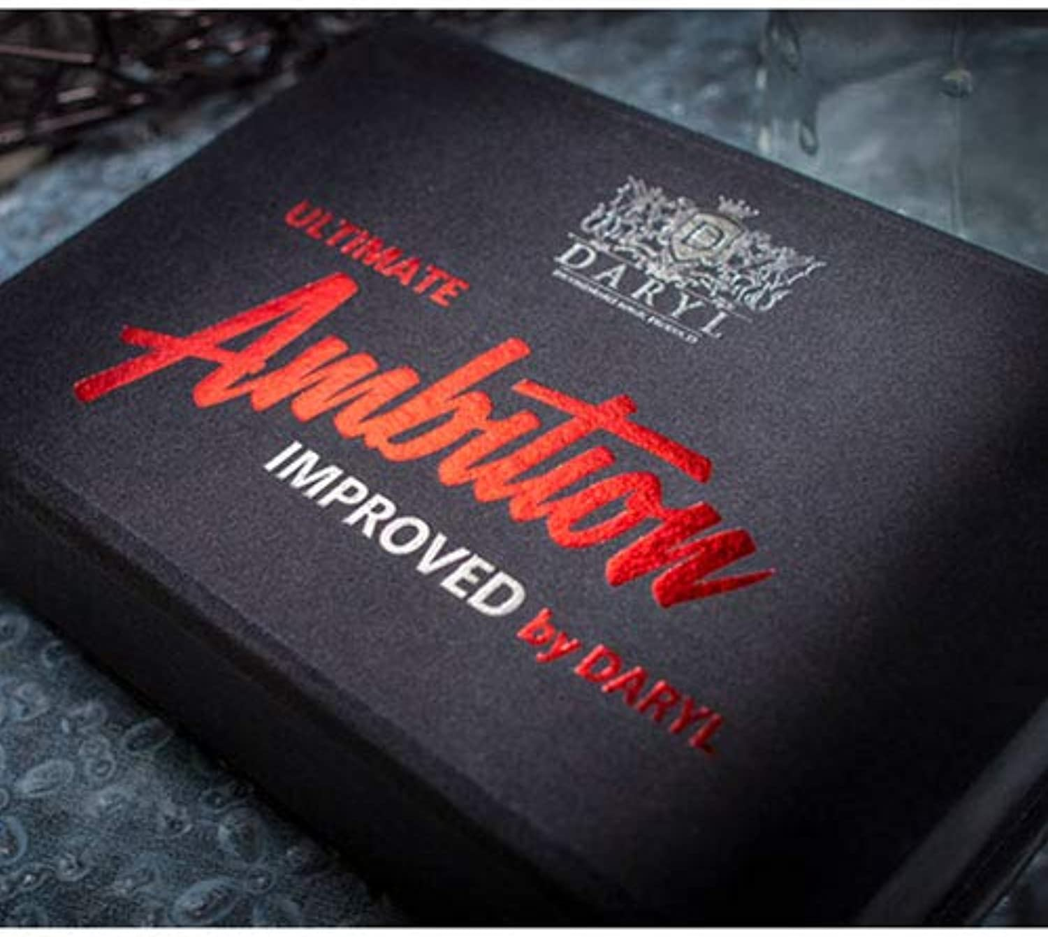 SOLOMAGIA Ultimate Ambition Improved Red (Gimmicks and Online Instructions) by Daryl  Stage Magic  Zaubertricks und Props