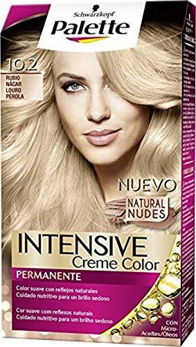 Palette Intense Cream Coloration Intensive Coloración del Cabello 10.2 Rubio Nácar