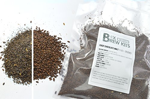 Crisp Chocolate Malt 1 LB CRUSHED Home Brewing Beer Making Recipe Ingredients Vacuum Sealed