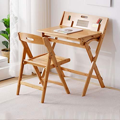 XSN Kids Furniture Set Kindersitzgruppe Kindertisch Mit Ablagefach,Faltbar,Bequeme Lagerung,Mit Passendem Stuhl