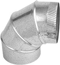 Speedi-Products SM-26A90 06 6-Inch 26-Gauge 90-Degree Round Adjustable Elbow
