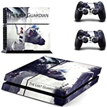 Playstation 4 Skin Set - The Last Guardian HD Printing Vinyl Skin Cover Protective for PS4 Gaming Console and 2 PS4 Controller by Mr Wonderful Skin