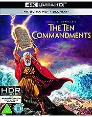 The Ten Commandments (1956) 4K [Blu-ray] [2021] [Region A & B & C]