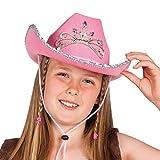 Boland 04104 - Cowgirl Glimmer Cappello Bambina, Rosa