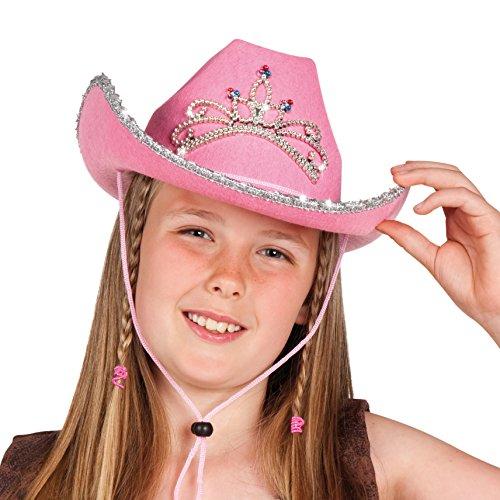 Boland 04104 - Kinderhut Glimmer, Einheitsgröße, rosa