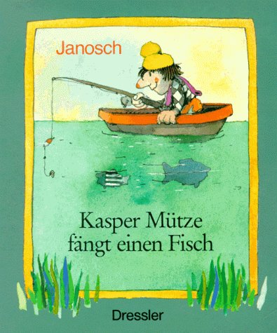 Kasper Mütze fängt einen Fisch