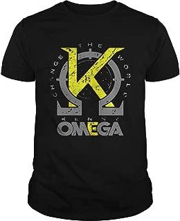 Kenny Omega change the world shirt, Unisex Hoodie, Sweatshirt For Mens Womens Ladies Kids