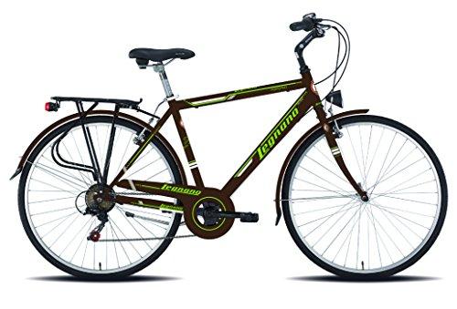 Legnano Ciclo 480 Portofino, City Bike Uomo, Marrone, 48