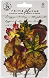 Prima Marketing Inc. Prima Flowers Leaf Embellishments - Fall Pine, MultiColored