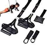 Bodytorc Suspension Training Kit, Bodyweight Training Straps for Full Body Workouts at Home