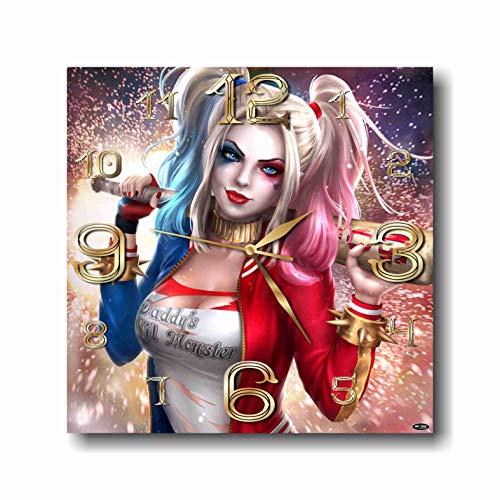 51KDZAvmINL Harley Quinn Clocks